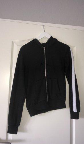 sweater jacke/ reißverschluss jacke/ kapuzen jacke