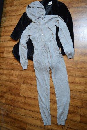 Sweater Kapuzen Jumpsuit grau Neu Fashion Nova 38