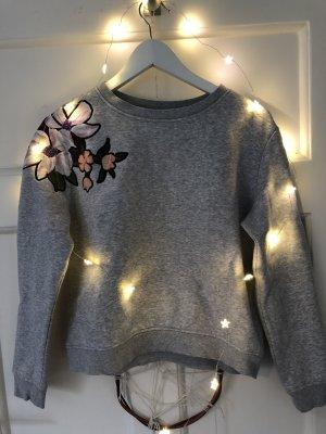 Sweater mit Blumenprint