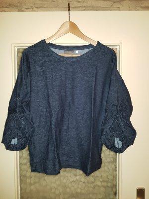 Sweater mit gerafftem 3/4 Arm