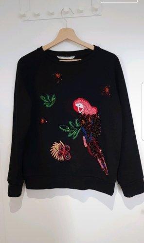 Sweater mit Pailletten
