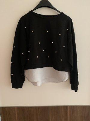 Sweater mit Perlen