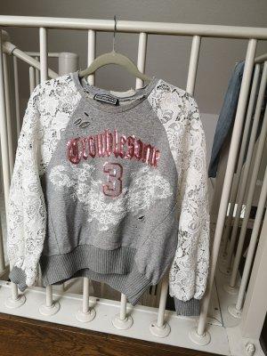 Sweater mit Spitze
