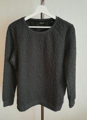 Sweater mit Strukturmuster