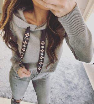 Zara Sweat à capuche multicolore
