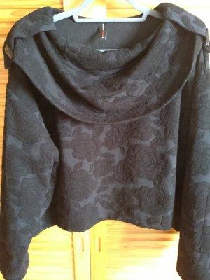 Sweater/Pullover mit größerem Kragen
