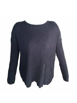 Sweater schlicht schwarz Pullover Zara