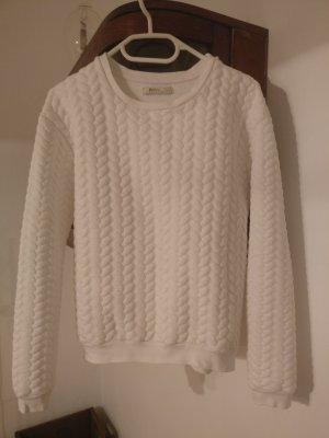 Sweater * Sweatpullover * Pullover * Bershka * Zopfmuster * Gr. S