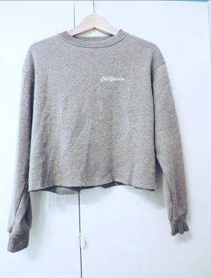 Sweater Sweatshirt Shirt Langarmshirt oversized cropped