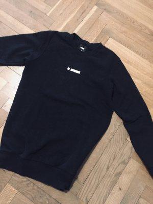 alternative vintage soft Bluza dresowa czarny Bawełna