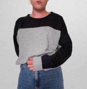 Bench Sweat Shirt light grey-anthracite