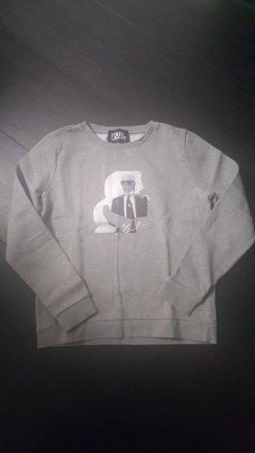 Karl Lagerfeld Sweat Jacket light grey-grey