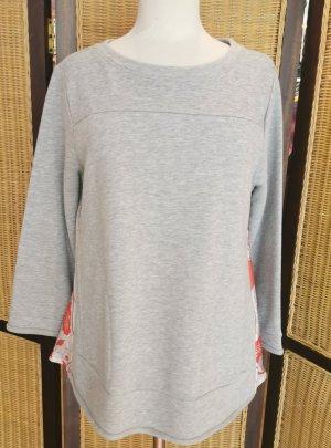 More & More Felpa grigio chiaro Cotone