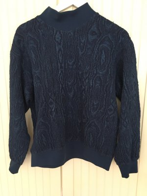 & other stories Kraagloze sweater blauw
