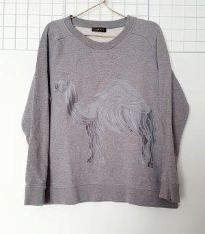 Stine Goya Felpa grigio chiaro-grigio Cotone
