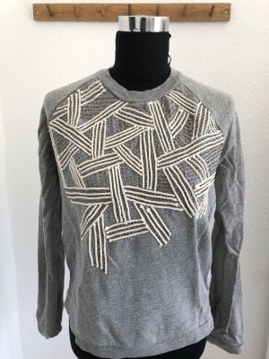 Sweater Zara mit Stickereien Gr. XS
