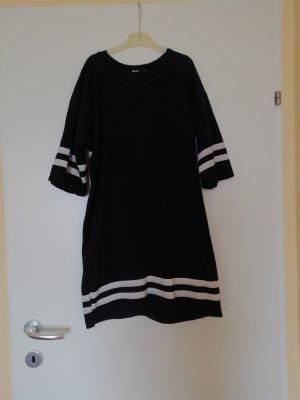 Bik Bok Sukienka dresowa biały-czarny