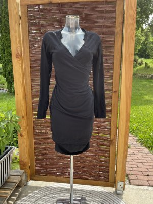 Hunkydory Sukienka dresowa czarny-antracyt