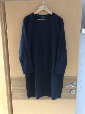 Street One Vestido de tela de sudadera azul oscuro