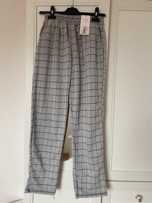 Tofisa Pantalon de jogging noir-gris clair coton