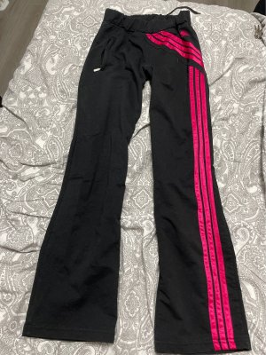 Adidas Joggingbroek framboosrood-zwart