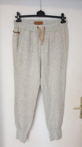 Tigerhill Pantalone fitness grigio chiaro Tessuto misto