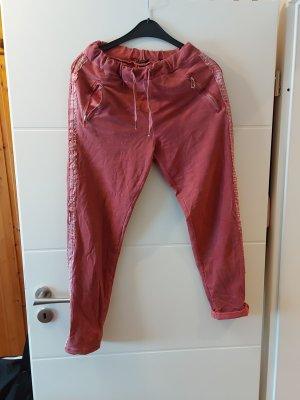 Made in Italy Pantalón deportivo rojo claro-rojo frambuesa
