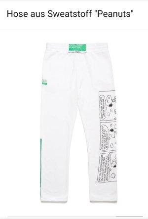 United Colors of Benetton Joggingbroek wit