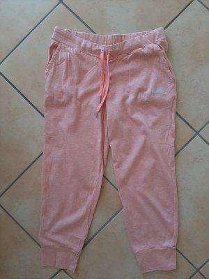 Reebok Pantalon de jogging rose tissu mixte
