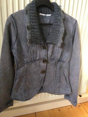 Elisa Cavaletti Veste chemise gris ardoise