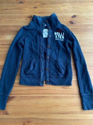 Hollister Cardigan a maglia grossa blu scuro