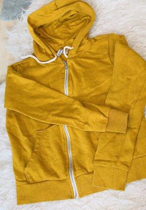 H&M Chaqueta estilo universitario naranja dorado