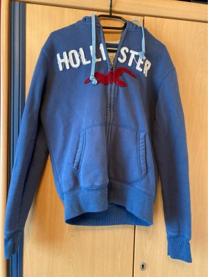 Hollister College Jacket dark blue
