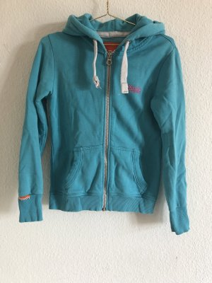 Superdry Giacca fitness azzurro