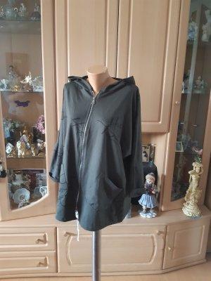 Made in Italy Kurtka oversize czarny-khaki