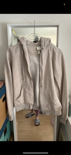 H&M Hooded Vest beige-oatmeal