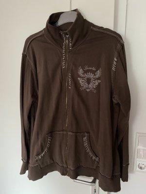 Sweat Jacket brown