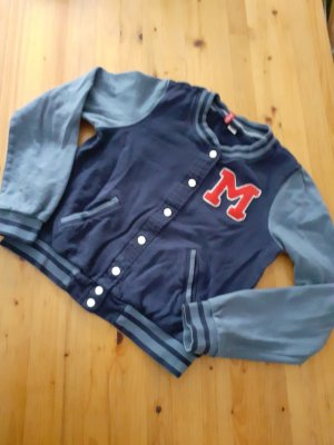 H&M Divided College Jacket red-blue
