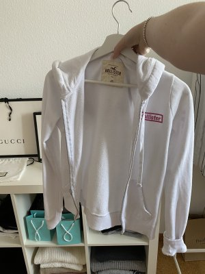 Hollister Sweat Jacket pink-white