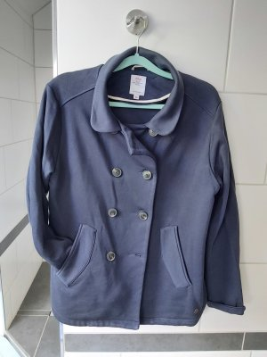 s.Oliver Pea Jacket dark blue