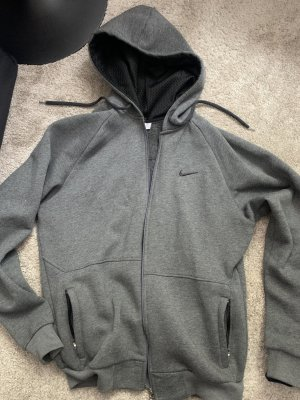 Nike Giacca con cappuccio grigio-nero
