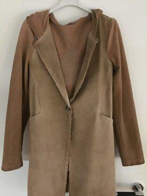 Shirt Jacket apricot cotton