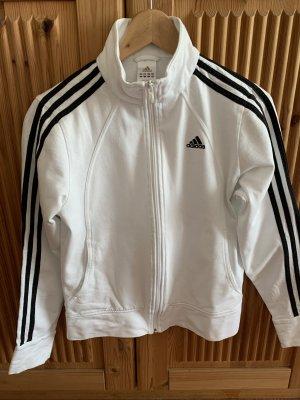Adidas Sweat Jacket white-black cotton