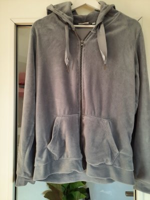 Blue Motion Sweat Jacket silver-colored