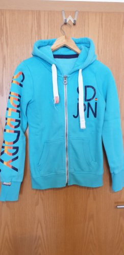 Superdry Sweat Jacket light blue