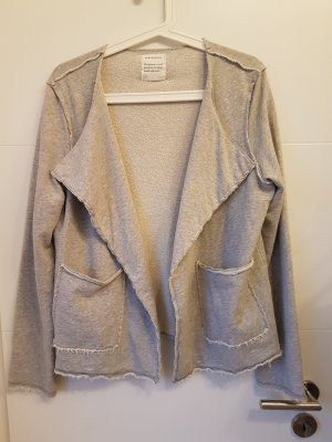 armedangels Veste sweat gris clair