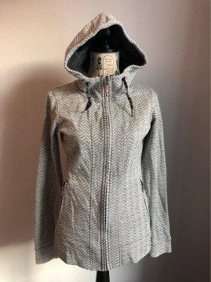Roxy Chaqueta con capucha blanco-negro