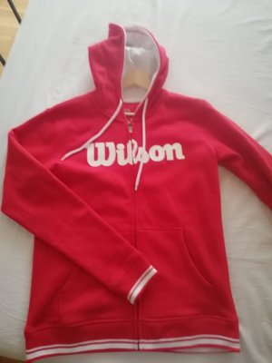 Wilson Sweat Jacket white-red