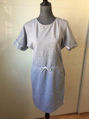 Esmara Vestido de tela de sudadera blanco-gris