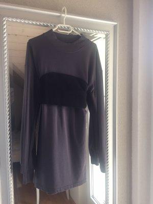 Missguided Sukienka dresowa antracyt-czarny